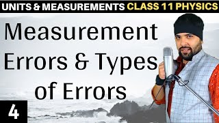 Units and Measurements Class 11 Physics IIT Jee Mains
