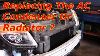 How To Replace The Air Conditioner Condenser On A  Ford Explorer