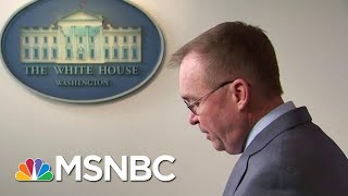Mulvaney Tries To Walks Back That Trump Held Up Ukraine Aid For Political Reasons | Hardball | MSNBC