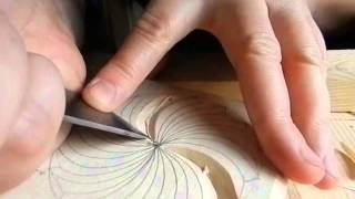 Смотреть онлайн Геометрическая резьба по дереву: элементы орнамента