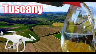 Italy: Day 5 | EPIC DRONE FLIGHT in Tuscany | We Drink All the Wine