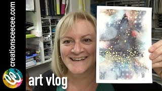 Finding New Ways To Embellish Watercolor Paintings