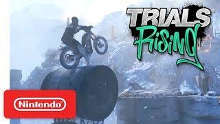 Trials Rising - Accolades Trailer - Nintendo Switch