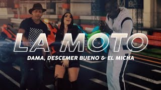 Video La Moto de Descemer Bueno feat. Dama y El Micha