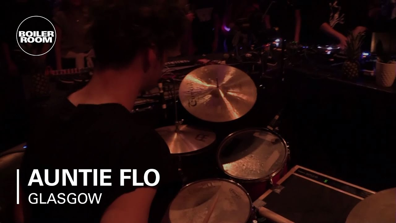 Auntie Flo - Live Performance @ Boiler Room Glasgow 2016