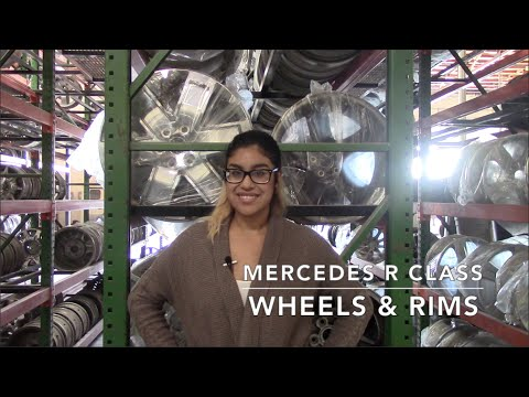 Factory Original Mercedes R Class Wheels & Mercedes R Class Rims – OriginalWheels.com