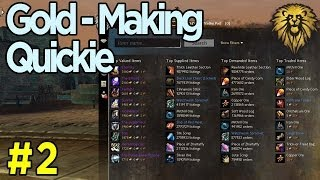 Gold-Making Quickie #2 - Flipping Items On The Trading Post - Guild Wars 2