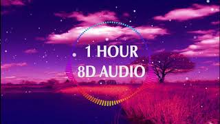(1 HOUR) Marshmello Ft Khalid   Silence (8D Audio) 🎧