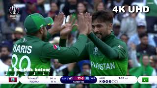 Pakistan vs West Indies - ICC Cricket World Cup 2019 - HL