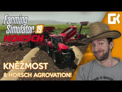 KNĚŽMOST & HORSCH AGROVATION!   Farming Simulator 19