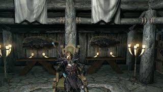 Лунная походка лошади   Skyrim