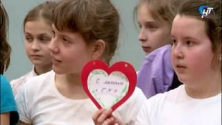 В 34-й школе прошёл праздник «Я влюблен в ГТО»