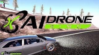 AI Drone Simulator : Chasing Cars by Preston Marlowe