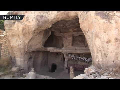 العرب اليوم - آخر ظهور لمدينة تاريخية جنوب تركيا قبل غمرها بالمياه