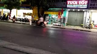 preview picture of video 'Thị xã hồng ngự về đêm ...'