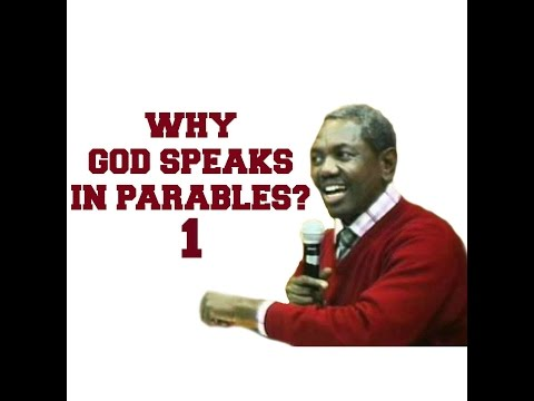 Why God Speaks In Parables | PART 1 | Bro Gbile Akanni