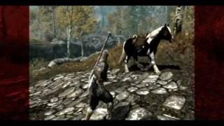 skyrim The Elder Scrolls V: Лунная походка коня