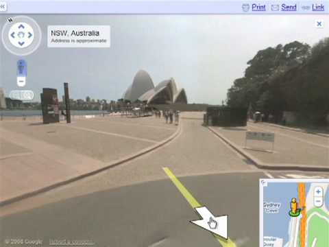 Google Maps Revises Street View Interface