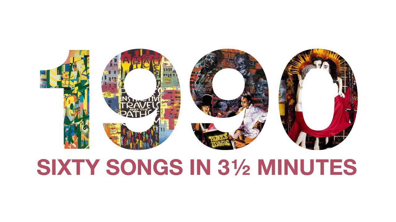 60 Songs aus den 90er Jahren zusammengemixt