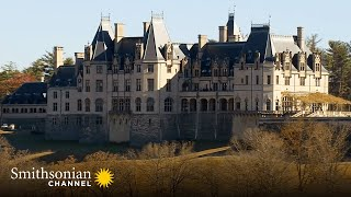 Vanderbilt's Biltmore Estate: 6 Years to Build, 43 Bathrooms 🤩 Aerial America | Smithsonian Channel