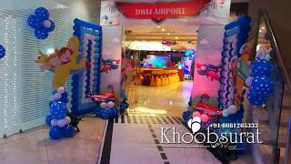 Dwij Airplane Theme Party # Khoobsurat Event