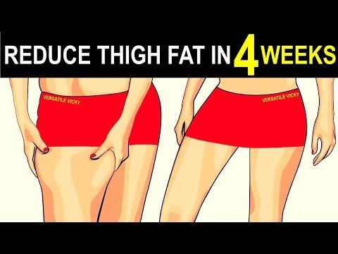 3 Tips To Lose Thigh Fat Fast