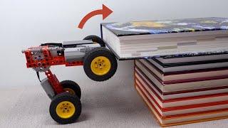 Making Lego Car CLIMB Obstacles