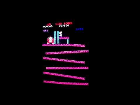 """hqdefault - Descubren un bug en la recreativa de """"Donkey Kong"""" 36 años después"""
