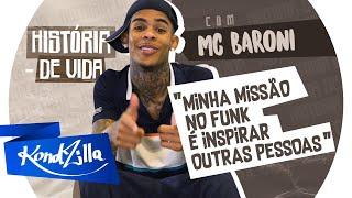 "História de Vida do MC Baroni dos Hits ""Ela Gostou do Pretin"" e ""Chutei o Balde"""