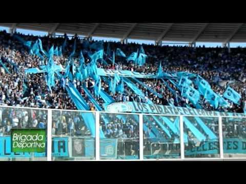 """Hinchada BELGRANO vs Newell's 2012"" Barra: Los Piratas Celestes de Alberdi • Club: Belgrano"