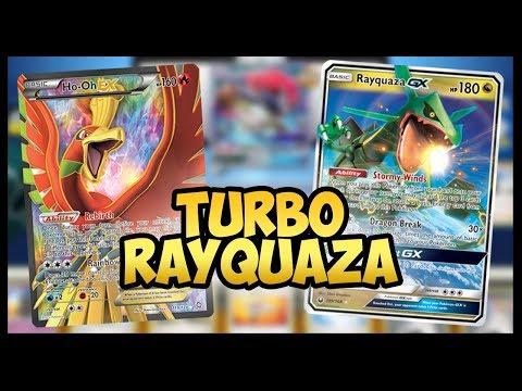 Turbo Rayquaza GX / Ho-oh EX – Pokemon TCG Online Gameplay