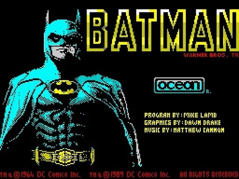 ZX Spectrum Longplay [023] Batman The Movie
