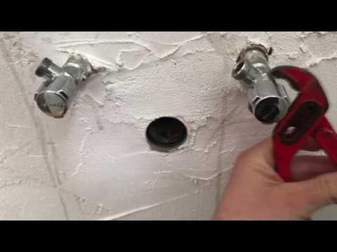Wasser Anschluss Geräte-Eckventil tauschen Küchen Kombi-Eckventil montieren Heimwerker Anleitung