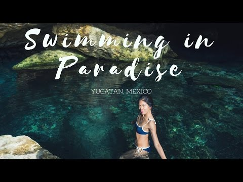 SWIMMING IN PARADISE IN YUCATAN MEXICO | Cenote + Coba near Tulum