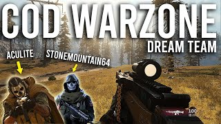 Call of Duty Warzone Dream Team