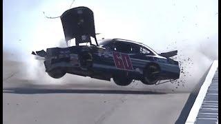 All NASCAR Crashes at Las Vegas (2018) [LIVE]