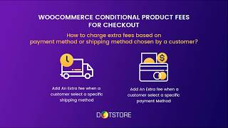How to charge extra fees based on payment method or shipping method chosen by a customer