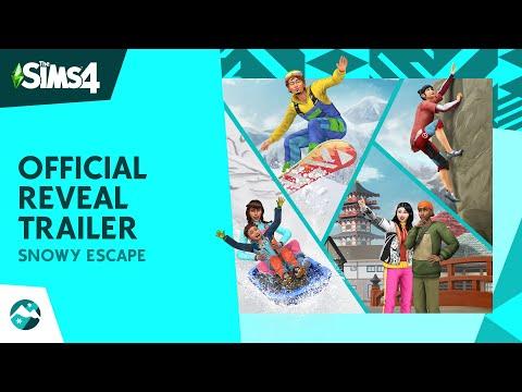 Officiële Sims 4: Sneeuwpret trailer