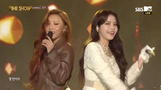 "Mamamoo Comeback Stage ""No More Drama"" + ""Wind Flower"" The Show (12/4/2018)"
