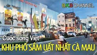 The most crowded city of Ca Mau | Vietnamese life
