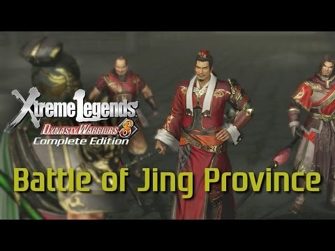 Dynasty Warriors 8 Xtreme Legends | Battle of Jing Province (Wu Story Mode Ep.6)