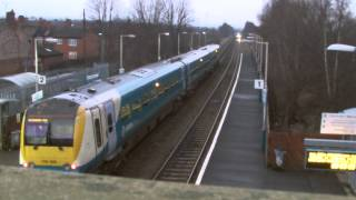 preview picture of video 'Half an Hour at (6) - Shotton Station 31.1.2014 - Deeside ATW DMU's'