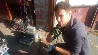 ремонт авто своими руками Skoda Felicia 1.6 часть-6