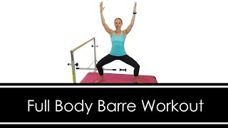 FULL BODY BARRE WORKOUT: At HOME: 30 MINUTES by Workout Hotel