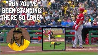 MLB bewonder die huis te lank