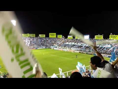 """""""Recibimiento de la hinchada de Atlético Tucumán vs Palmeiras"""" Barra: La Inimitable • Club: Atlético Tucumán"""
