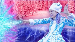Amelia and her friends are playing a mysterious challenge with the Ice Queen (Part 4)