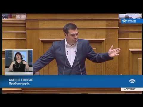 Α.Τσίπρας (Πρωθυπουργός)(Ρύθμιση οφειλών,Συνταξιοδοτικές ρυθμίσεις)(15/05/2019)
