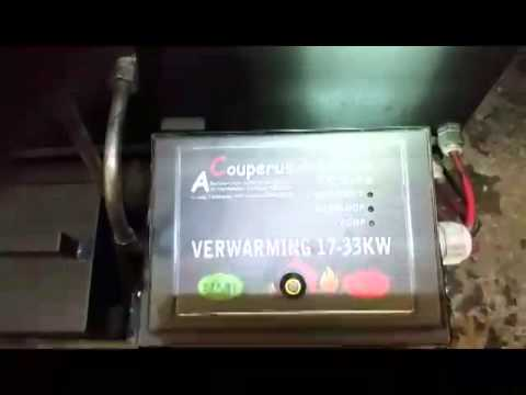 Werkplaats verwarming ook alle soorten olie ook afgewerkte olie! 17 tot 33 kw Gratis verzenden.