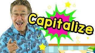 Capitalize | Uppercase Letters | Jack Hartmann, Capitalization